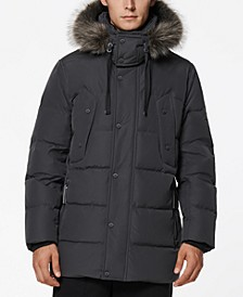 Men's Gattaca Down Parka with Removable Faux-Fur Trimmed Hood