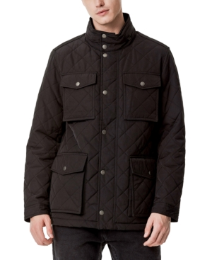 Tommy Hilfiger Men's Quilted Oversized Pocket Quilted Jacket, Created for Macy's