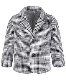 Baby Boys Glen Plaid Blazer, Created for Macy's
