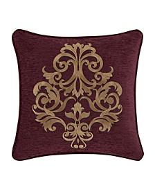 "Garnet Decorative Throw Pillow, 18"" x 18"""