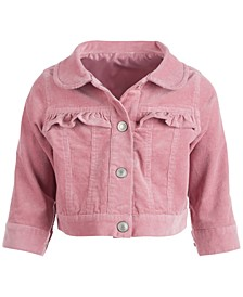 Baby Girls Cord Jacket, Created for Macy's