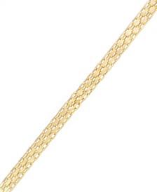 Bismark Chain Bracelet in 10k Gold