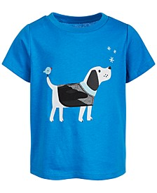 Baby Boys Cotton Dog T-Shirt, Created for Macy's
