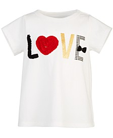 Toddler Girls Love Cotton T-Shirt, Created for Macy's