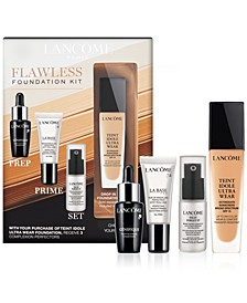 Lancôme Teint Idole Ultra Wear Flawless Foundation Kit - Only $10 with any Teint Idole Ultra Foundation Purchase (a $57 Value!)
