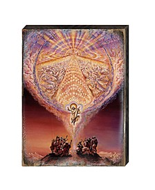 by Josephine Wall Bless Our Land Wall and Table-Top Wooden Decor