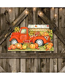 by Susan Winget Pumpkin Produce Track Wall and Door Decor