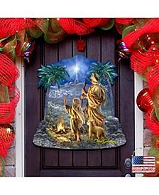 by Dona Gelsinger Shepherds Keeping Watch Wall and Door Hanger