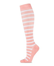 Cabana Stripe Women's Compression Socks
