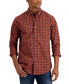 Men's Grant Checked Shirt, Created for Macy's