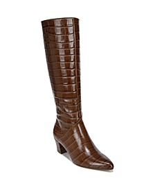 Melanie Wide Calf High Shaft Boots