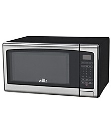 1.1 Cu.Ft Stainless Steel Microwave