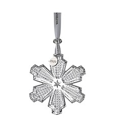 Signed Snowcrystal Ornament