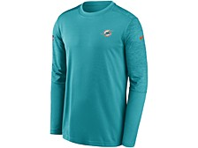 Miami Dolphins Men's Coach UV Long Sleeve Top