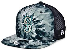 Seattle Mariners Tie Dye Mesh Back 9FIFTY Cap