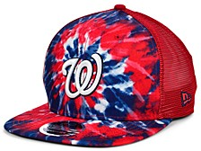 Washington Nationals Tie Dye Mesh Back 9FIFTY Cap