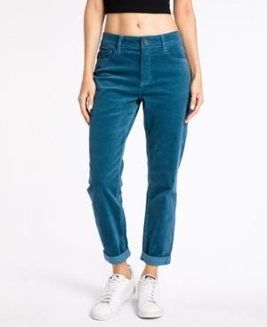 Women's High Rise Corduroy Mom Jeans