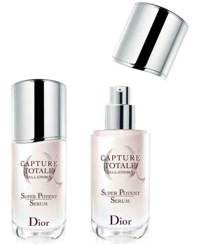 Dior 2-Pc. Capture Totale Super Potent Age-Defying Intense Serum Set & Reviews - Beauty Gift Sets - Beauty - Macy's