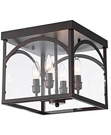 "Fogi 11"" 4-Light Indoor Chandelier with Light Kit"