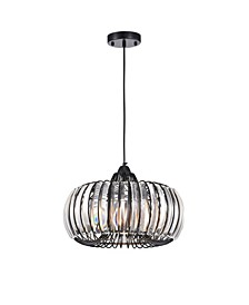 "Atelier 17"" 1-Light Indoor Pendant Lamp with Light Kit"