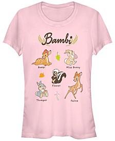 Women's Bambi Textbook Short Sleeve T-shirt