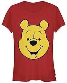 Women's Winnie the Pooh Big Face Short Sleeve T-shirt