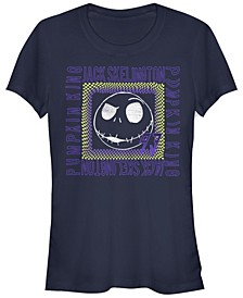 Women's Nightmare Before Christmas Jack Skate Short Sleeve T-shirt