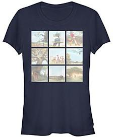 Women's Winnie the Pooh Scenes Short Sleeve T-shirt