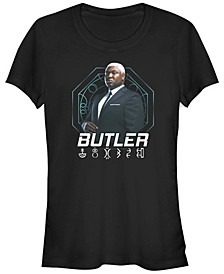 Women's Artemis Fowl Butler Hero Shot Short Sleeve T-shirt