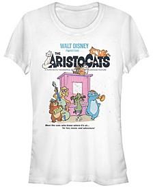 Women's The Aristocats Classic Poster Short Sleeve T-shirt