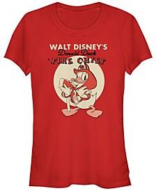 Women's Disney Mickey Classic Fireman Donald Short Sleeve T-shirt