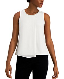 Petite Overlay Tank Top, Created for Macy's