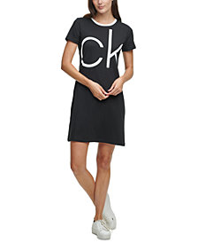 Calvin Klein Logo T-Shirt Dress