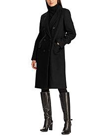 Lauren Ralph Lauren Double-Breasted Walker Coat