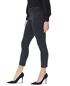 Alina Super-Skinny Printed Legging Ankle Jeans