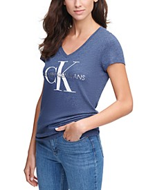 Cotton Logo Graphic T-Shirt