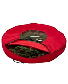 Canvas Christmas Wreath Storage Bag