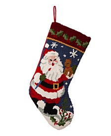 Hooked Stocking, Santa