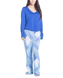 Plus Size Cool Girl Pajama Set