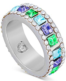 Multi-Crystal Eternity Ring