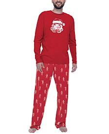 Men's Star Wars Santa Storm Trooper Pajama Set