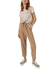 Nasco Drawstring-Waist Pants