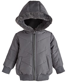 Baby Boys Chevron Parka, Created for Macy's