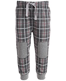 Toddler Boys Menswear Plaid Jogger, Created for Macy's