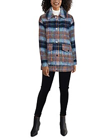 Plaid Shirt Coat