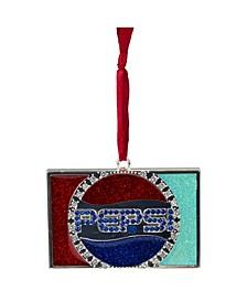 Pepsi Globe Logo European Crystal Christmas Ornament