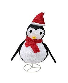 Lighted Penguin Outdoor Christmas Decor