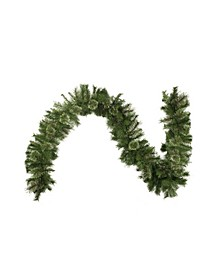 Cashmere Mixed Pine Artificial Christmas Garland-Unlit