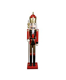 Commercial Size Christmas Nutcracker with Scepter