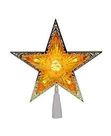 Pre-Lit Crystal Point Star Christmas Tree Topper